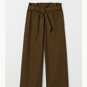 paper bag pants - h&m